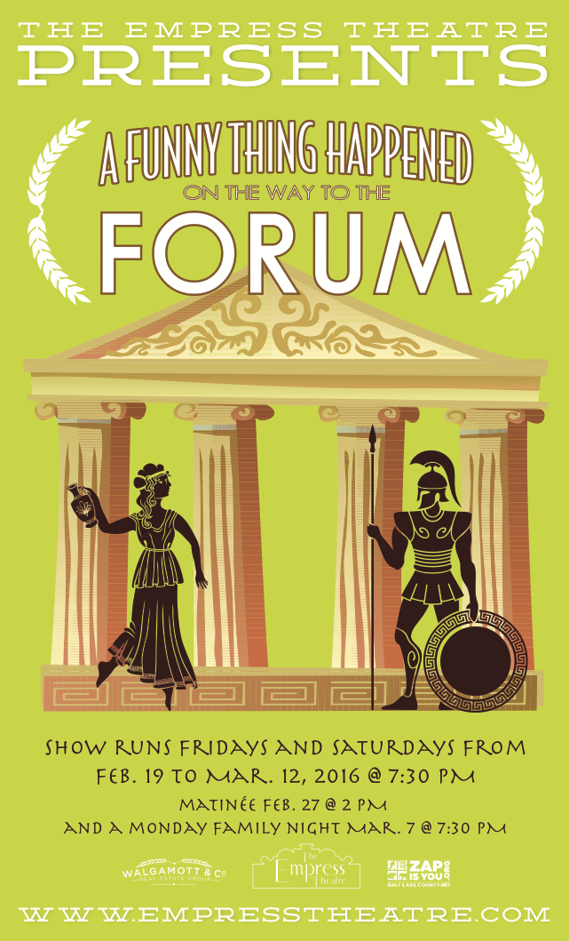 A Funny Thing Happened on the Way to the Forum Design